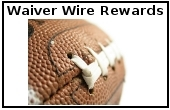 Waiver Wire Rewards